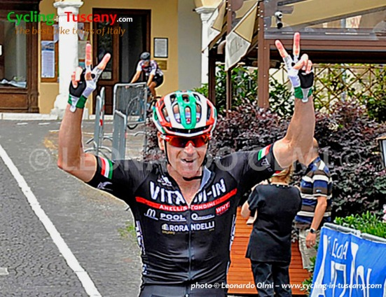 Leonardo Olmi, Italian Press Cycling Champion
