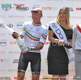 Leonardo Olmi, Italian Press Cycling Champion