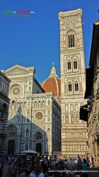 Italy, Tuscany, Florence, Duomo cathedral and Giotto tower