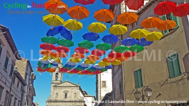Italy, Tuscany, Amiata, Castel del Piano, cycling bike tours