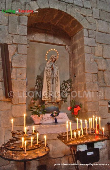 Italy, Tuscany, Amiata, Abbadia S. Salvatore, Abbey, church