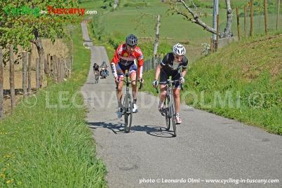 Italy, Tuscany, Fiesole and Mugello cycling bike tours