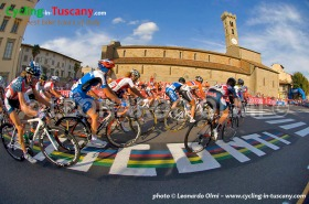 Italy, Tuscany, Fiesole, 2013 Florence Cycling World Champioship