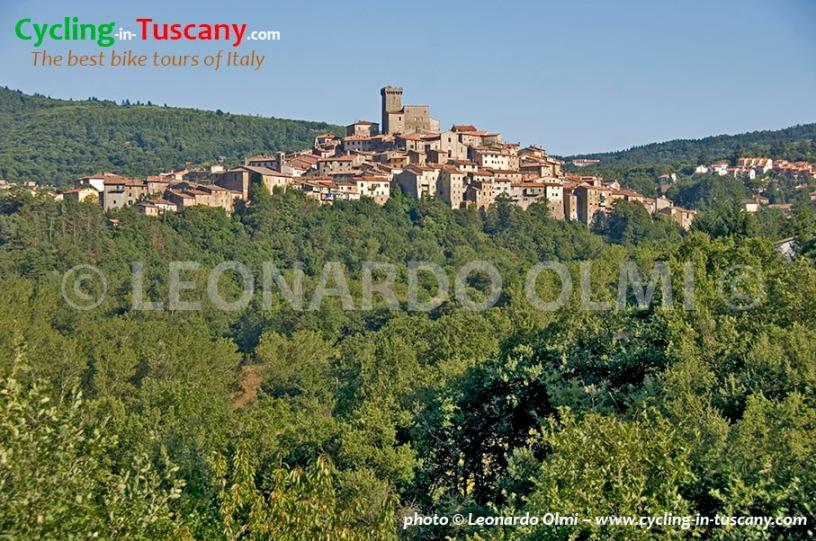 Italy, Tuscany, Amiata, Arcidosso, cycling bike tours