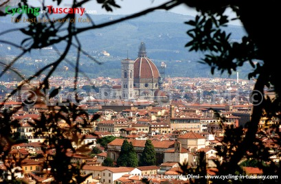 Italy, Tuscany, view of Florence