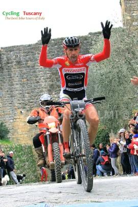 Francesco Casagrande, mountainbike, Monteriggioni
