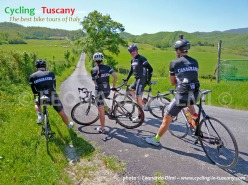 Italy, Tuscany, Fiesole and Mugello cycling bike tours