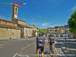 Italy, Tuscany, Fiesole, cycling bike tours