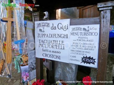 Italy, Tuscany, Amiata, typical food