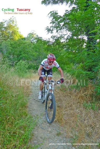 Italy, Tuscany, mountainbike cycling tours