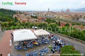 Italy, Tuscany, Florence, view from Michelangelo Square