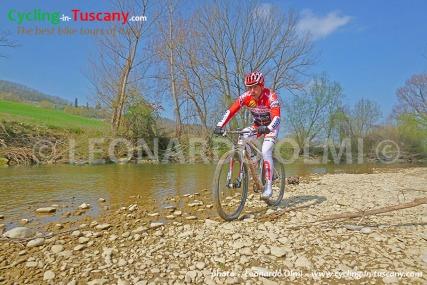 Italy, Tuscany, Chianti, mountainbike cycling tours