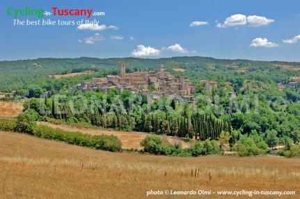Italy, Tuscany, S. Casciano dei Bagni