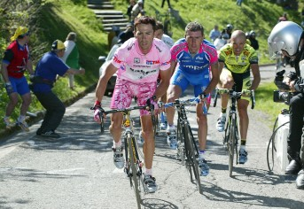 Francesco Casagrande at Giro d'Italia