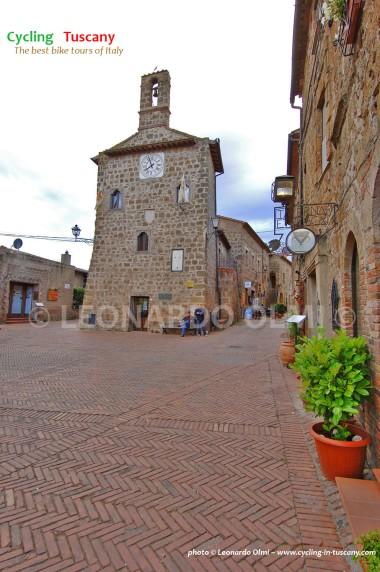 Italy, Tuscany, Sovana