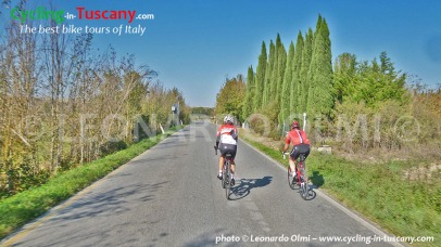 Italy, Tuscany, Val d'Orcia, Chianti, cycling bike tours