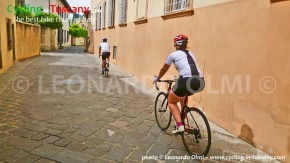 Italy, Tuscany, Florence, bikers